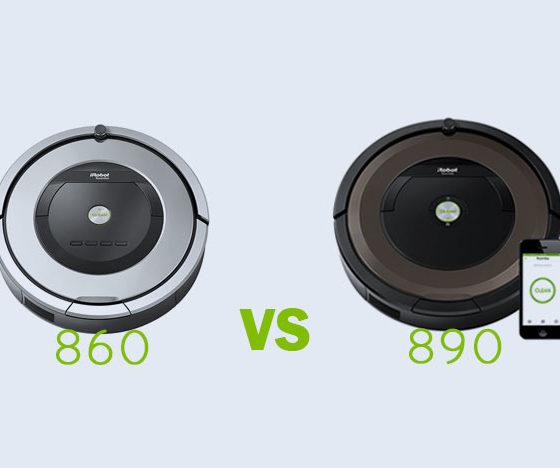 Roomba 860 vs 890