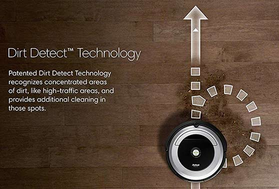 Dirt Detect Technology
