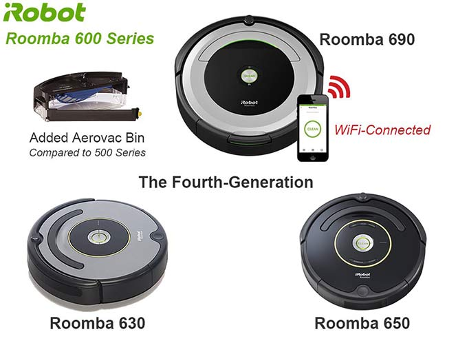 Roomba 600 Series - 630 650 and 690
