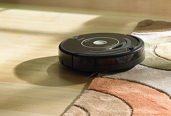 Roomba 630 self-adjusts between floor types