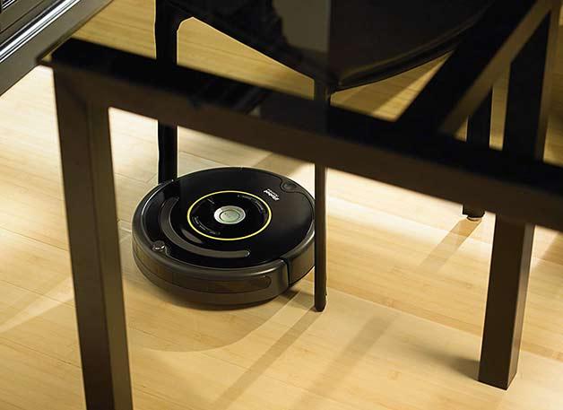 Roomba 650 Under Desk