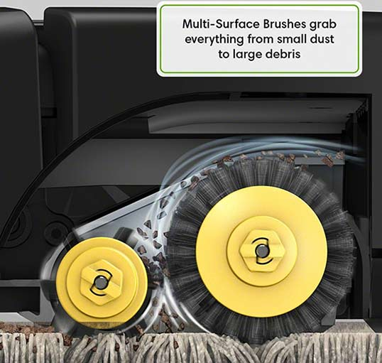 Roomba 690 multi-surface brushes