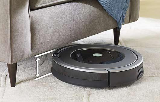 Roomba 860 height