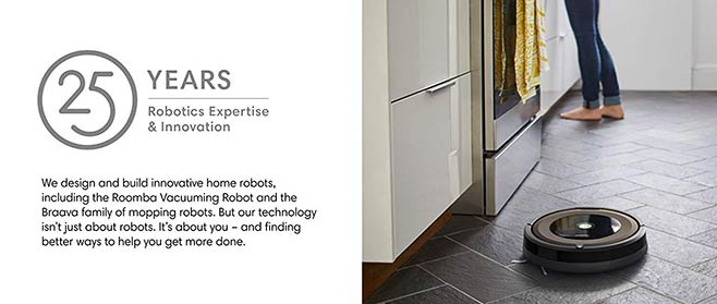 Roomba 890 ensures your floor gets cleaned