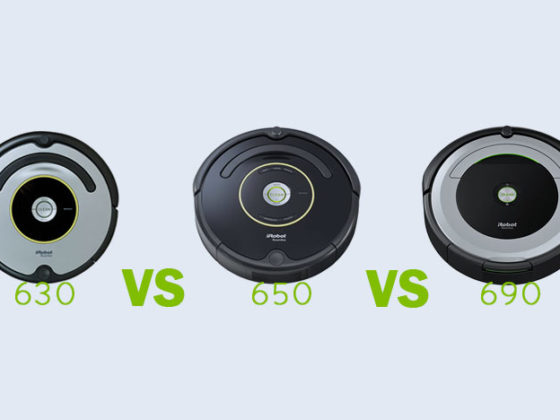 iRobot Roomba 630 vs 650 vs 690