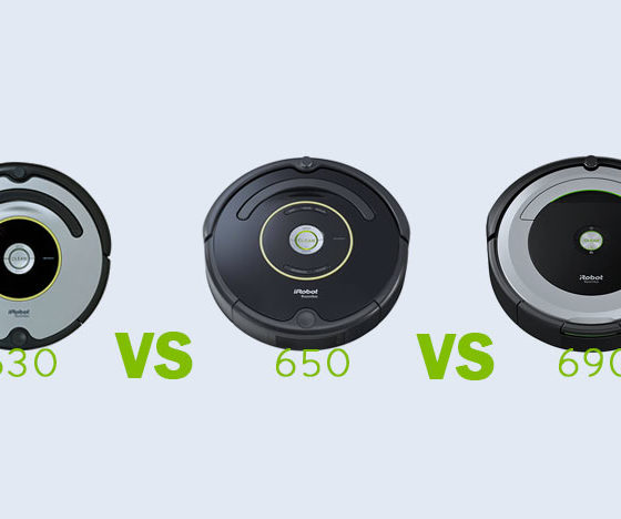 iRobot Roomba 630 vs 650 vs 690