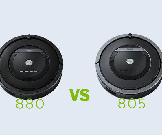 iRobot Roomba 880 vs 805
