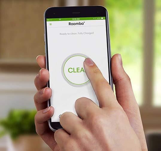 iRobot Roomba home app