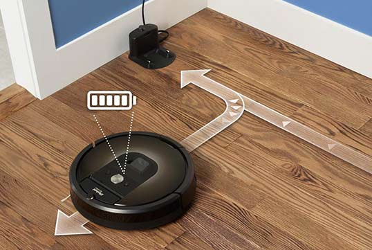Roomba 980 Recharge and Resume