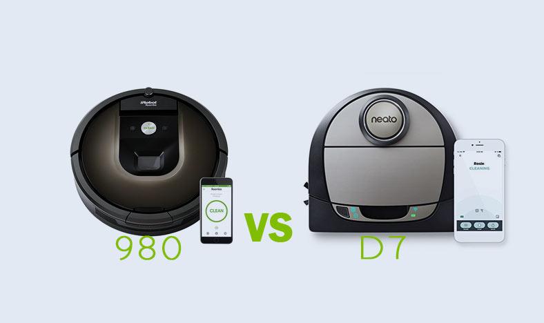 Neato Vs Roomba.Roomba 980 Vs Neato Botvac D7 Vacuum Advisor