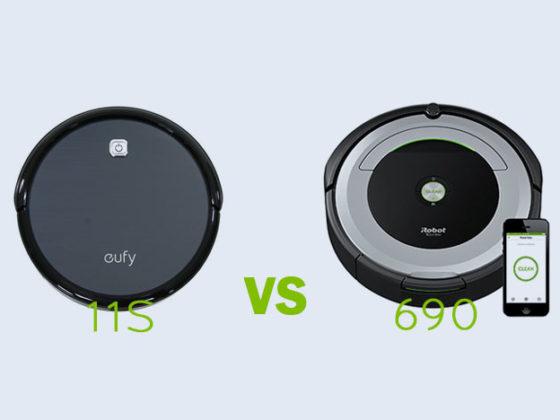 Eufy RoboVac 11S vs iRobot Roomba 690