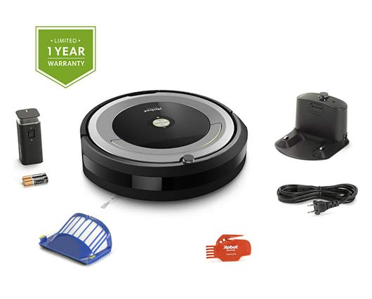 In the Box of Roomba 690