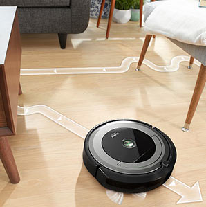 Roomba 690 dirt detection technology