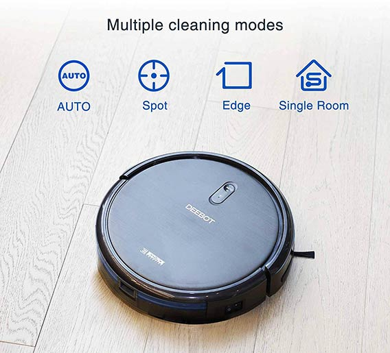 Deebot N79 - different cleaning modes