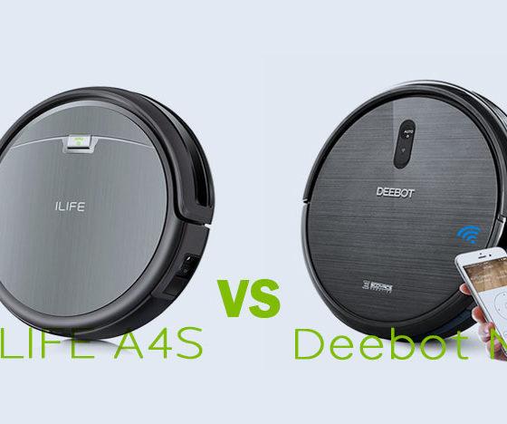 ILIFE A4S vs Ecovacs Deebot N79