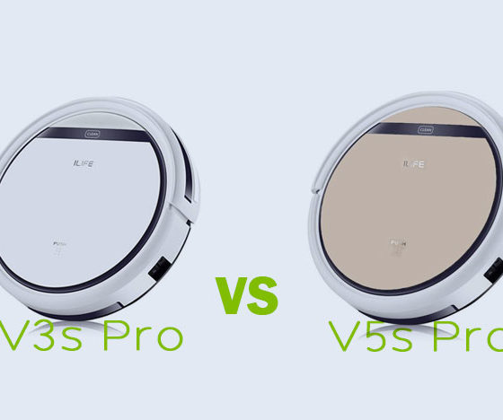 ILIFE V3s Pro vs ILIFE V5s Pro
