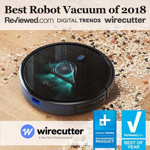 Eufy BoostIQ - Best Robot Vacuum of 2018