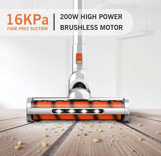 GOOVI Stick Vacuum - 200-Watt suction