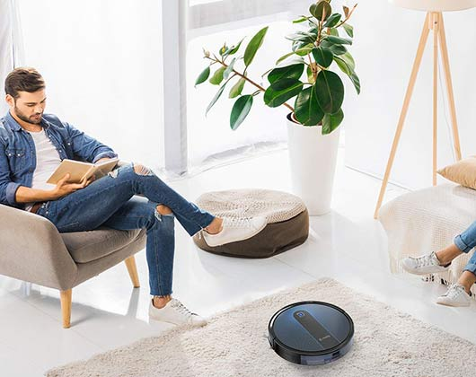 Coredy R650 Smart Robot Vacuum Cleaner