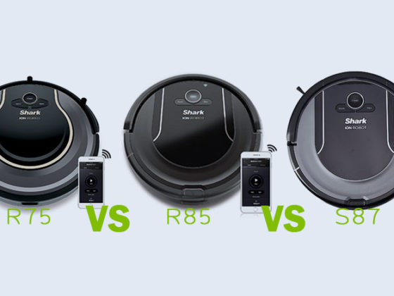 Shark ION Robot Vacuum R75 vs R85 vs S87