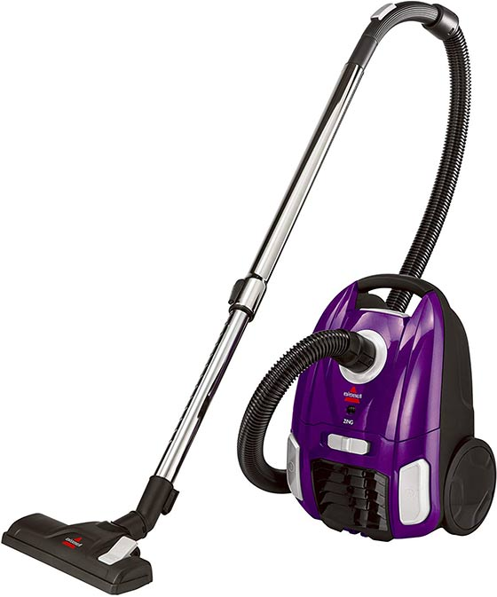 Bissell Zing Bagged Canister Vacuum 4122