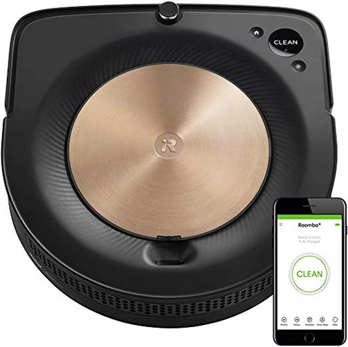 Roomba S Series D shaped body