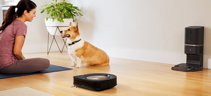 Roomba s9 and dog hair