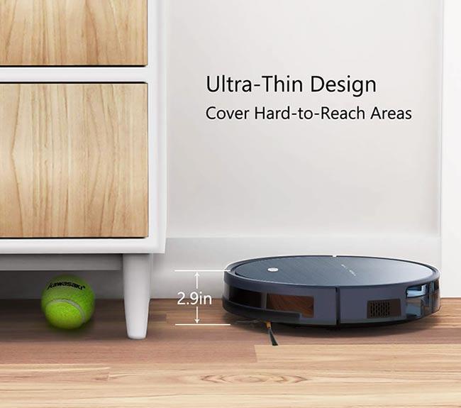 Tesvor Robot Vacuum Ultra-Thin Design