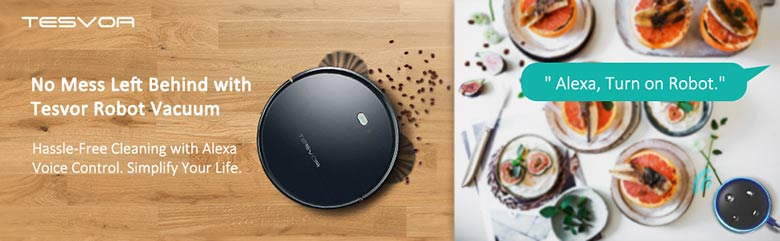Tesvor Robot Vacuum with Alexa