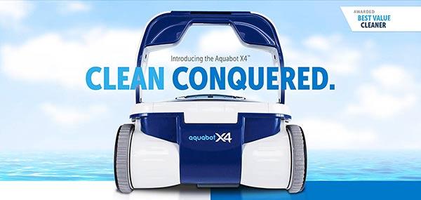 Aquabot X4 Above Ground Pool Vacuum