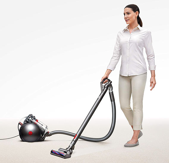Canister Vacuum Ease of Use Factor