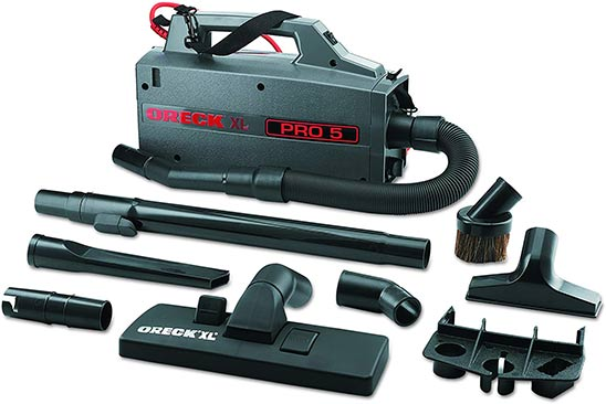 Oreck Commercial XL Pro 5 Canister Vacuum