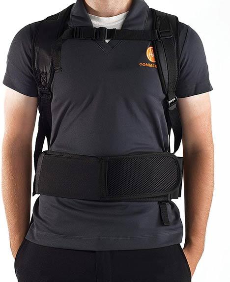 Backpack Vacuum Ergonomics