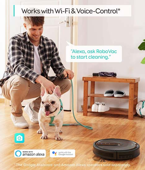 Eufy Robotic Vacuum and dogs