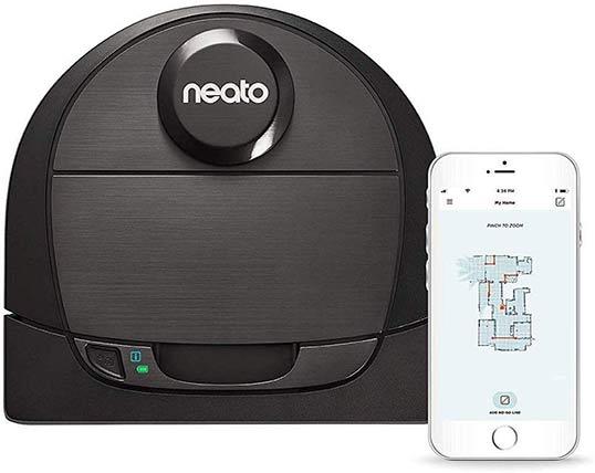 Neato BotVac Vacuum D-Shape Design