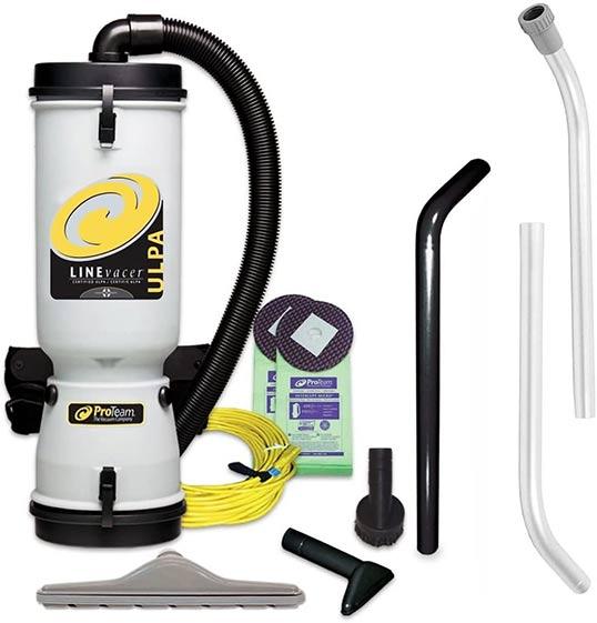ProTeam LineVacer HEPA Vacuum Backpack