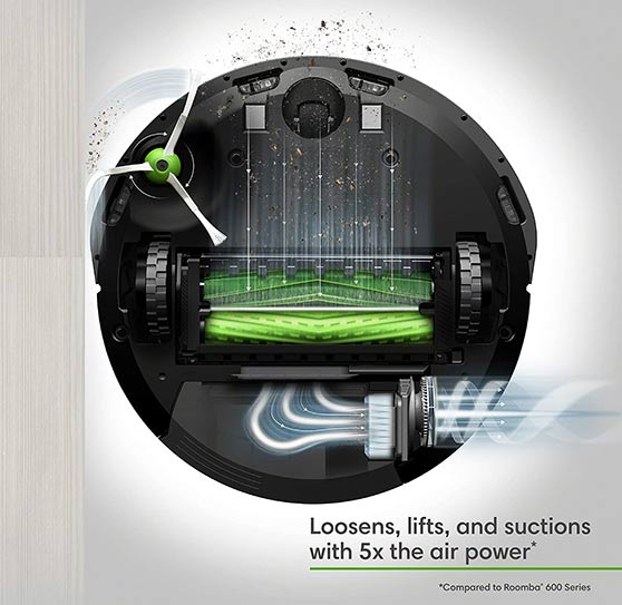 Roomba e5 and e6 - Strong Suction