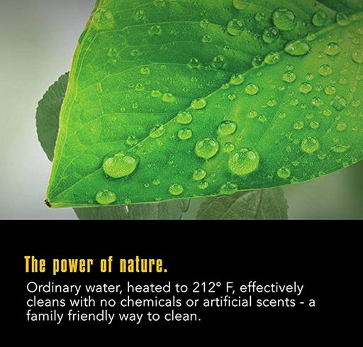 Steam Cleaner - The Power Of Nature
