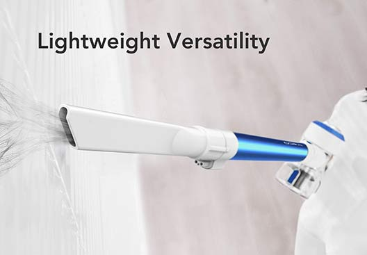 Tineco A10 A11 and Dyson V10 lightweight design