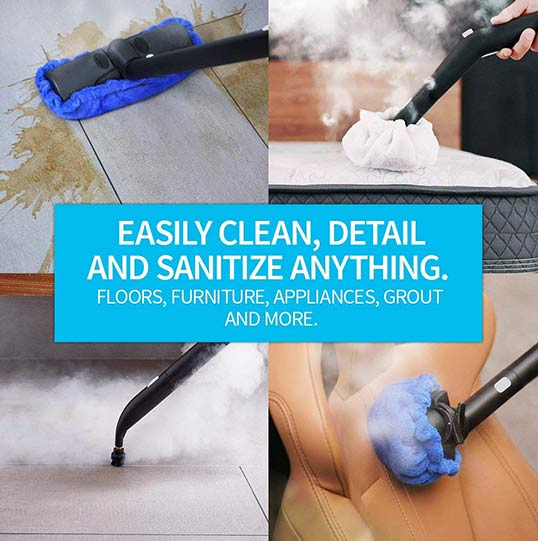 advantages of cleaning with steam