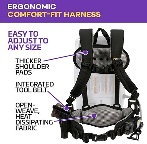 backpack harness and frame