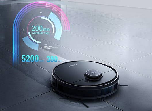 Deebot OZMO 950 - 200 minutes of battery life