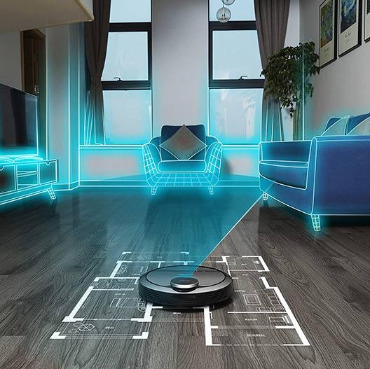 Ecovacs Deebot 901 LIDAR technology