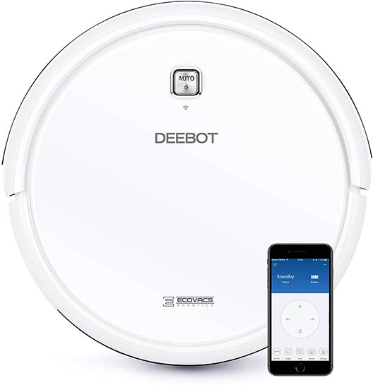 Ecovacs Deebot N79W white color
