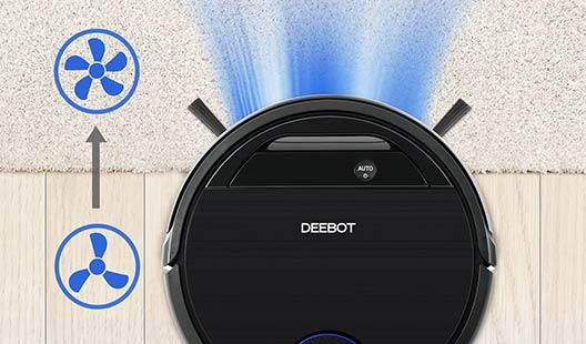 Ecovacs Deebot OZMO 930 carpet detection