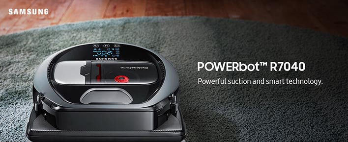 Samsung Electronics Powerbot versus the Competition