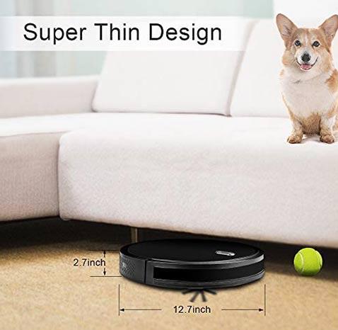 Amarey Robot cleaners super thin design