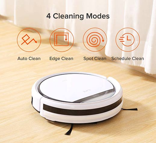 ILife V3s pet clean modes
