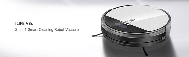 ILife V8s combination of vacuuming and mopping