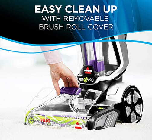 Bissell ProHeat Revolution Easy to Clean